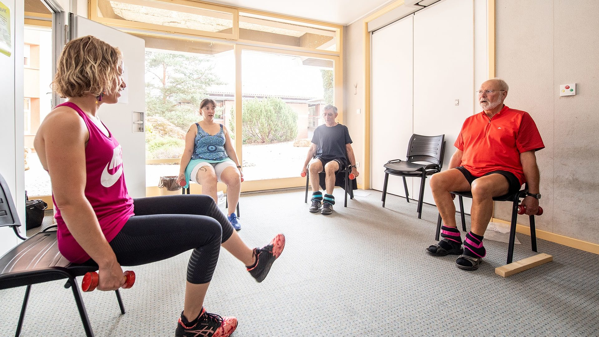 Activités physiques en petit groupe